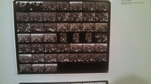 Paolo Pellegrin - Original contact sheet from The Exodus