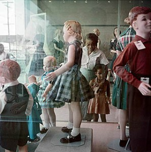 Ondria Tanner and Her Grandmother Window-shopping, Mobile, Alabama, 1956 The Gordon Parks Foundation