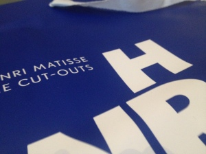"""Packaging from MOMA exhibition """"Henri Matisse: The Cut Outs"""""""