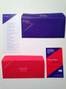 New York City Ballet: Fall Gala Invitations