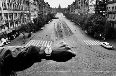 Prague, Negative, 1968.  Image courtesy of and © Josef Koudelka/Magnum Photos