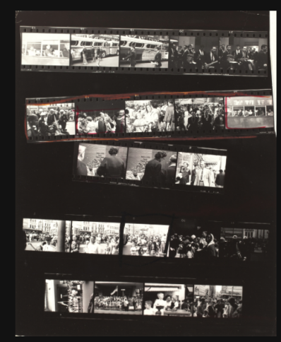 Contact Sheet for Trolley