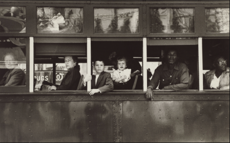 Robert Frank Trolley. NewOrleans,1955