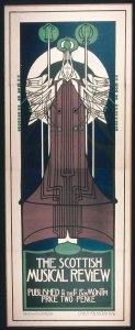 1896, Charles Rennie Mackintosh, The Glasgow Four
