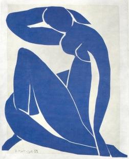Henri Matisse, Blue Nude (paper cut out), 1952