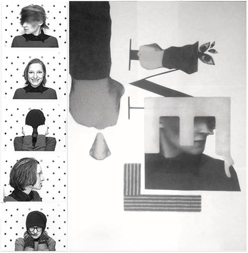 Process Self-Portrait Poster Design
