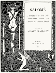 Aubrey Beardsley, Salome, 1894