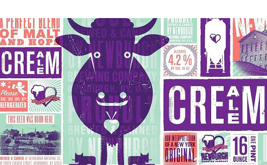 How to spot America's most loved beer? Look for Betsy the purplecow