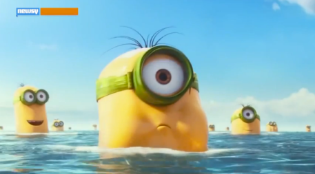 """Minions"" screenshot from the animated movie."