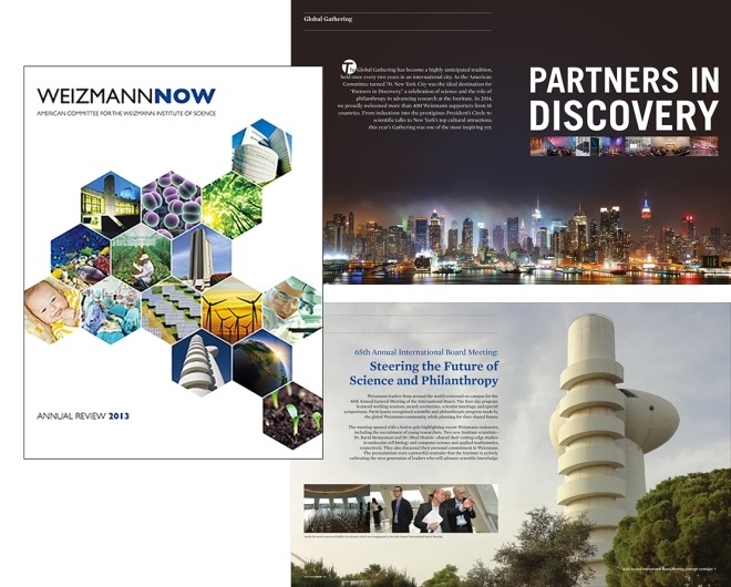 Weizmann Institute Annual Report