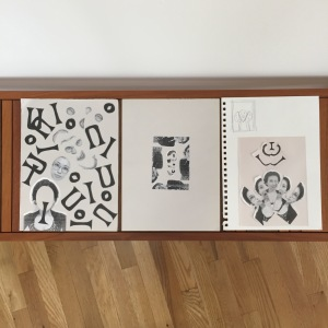 sketches by Iku Okada