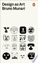Cover for Design as Art By Bruno Munari (paperback).