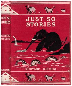 Cover Design from Just So Stories by Rudyard Kipling